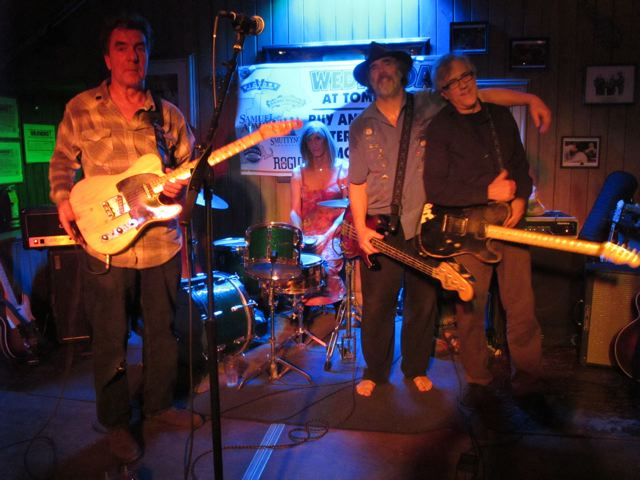 The Original Catbirds Lineup, photo by Susan Leach